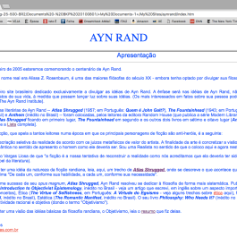 Ayn Rand Old Site - 00 - Site Inteiro