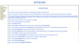 Ayn Rand Old Site - 05 - Linha do Tempo