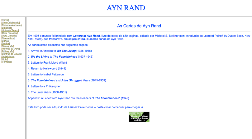 Ayn Rand Old Site - 09 - Carta