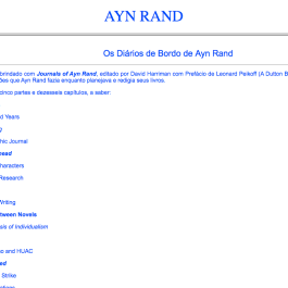 Ayn Rand Old Site - 10 - Diarios