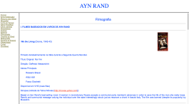 Ayn Rand Old Site - 11 - Filmografia