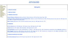 Ayn Rand Old Site - 13 - Bibliografia